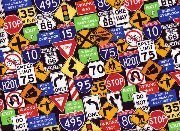 Close-up Stethoscopes Covers Traffic Signs