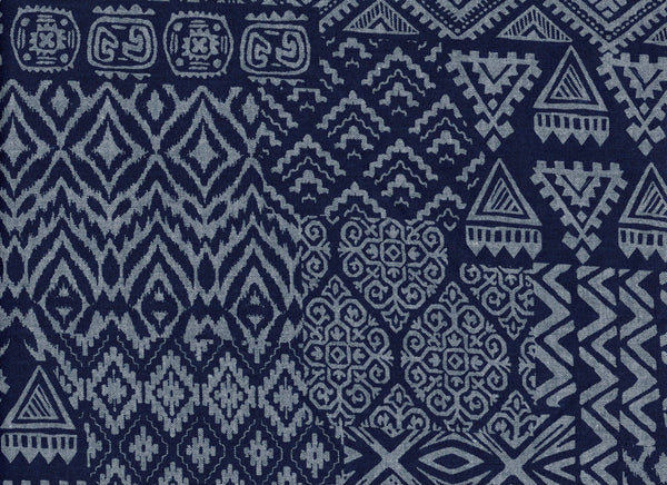 Close-Up Tribal Indigo