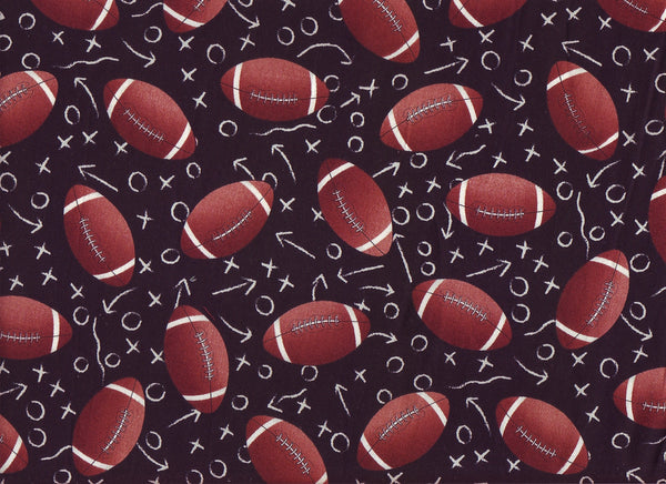 Close-up Fabric XO Footballs
