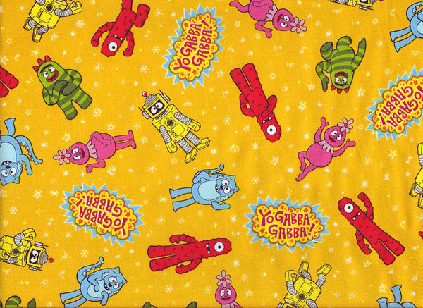 Close-up Stethoscope Cover Sock Yo Gabba Yellow