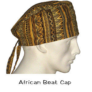 Surgical Scrub Caps African Beat