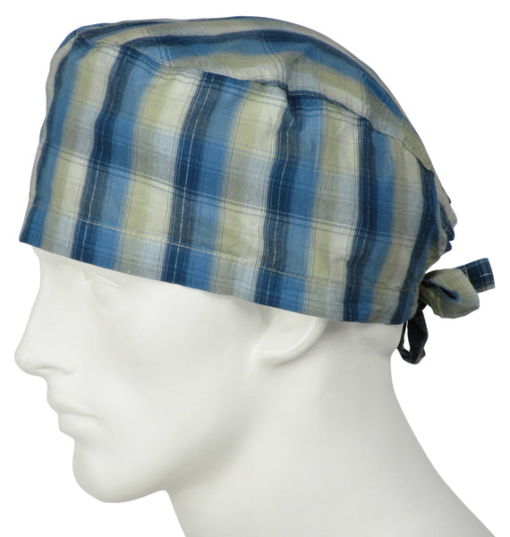 Scrub Hats Sandy Stripe