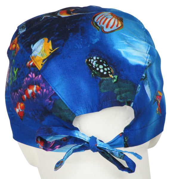 Surgical Cap Deep Sea