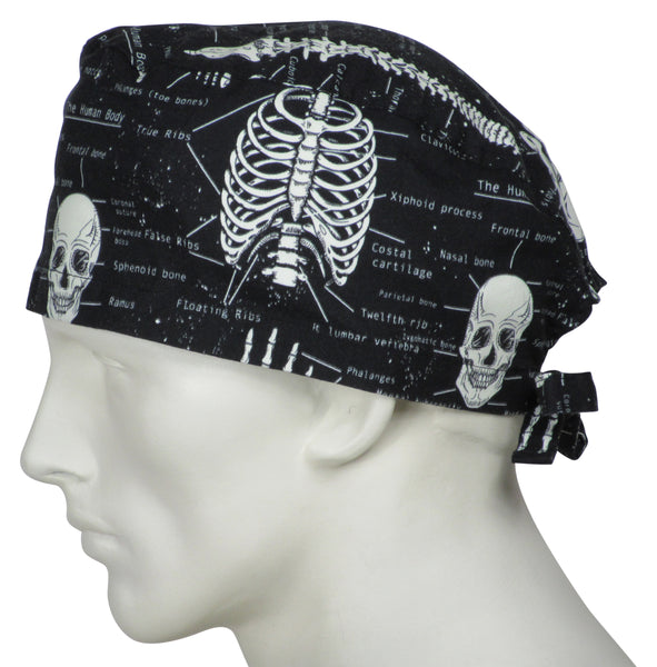 Scrub Caps Skeletons
