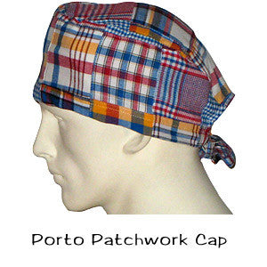 Surgical Caps Porto Patchwork