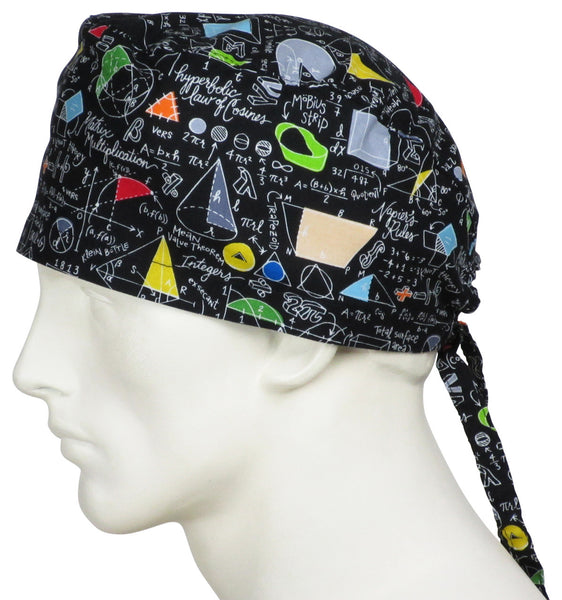 Theatre Scrub Caps Mathematics