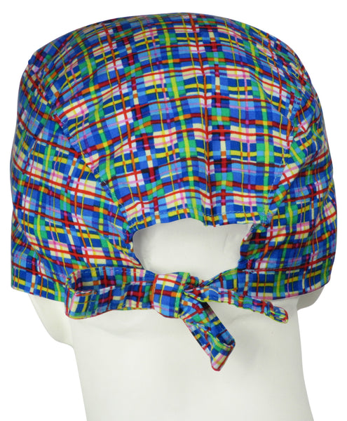 Surgeon Hats Birdland Plaid