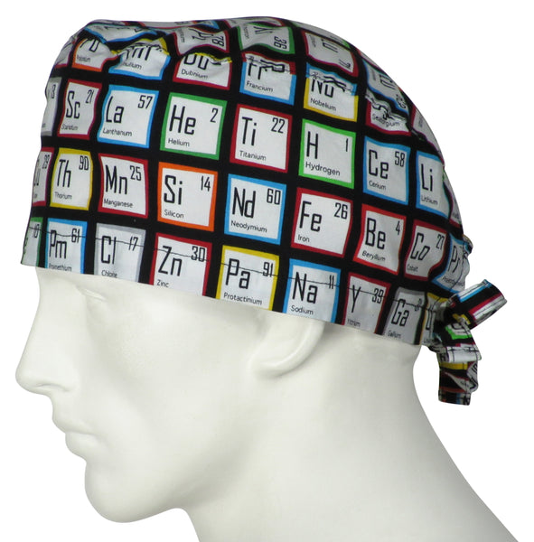 Surgical Caps Periodic Tables