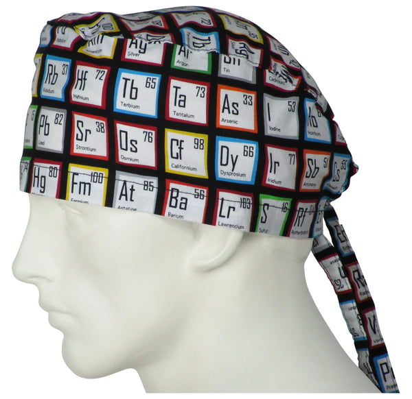Scrub Caps Periodic Tables