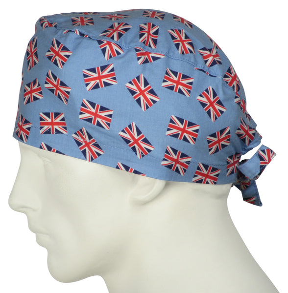 Scrub Caps Union Jack UK