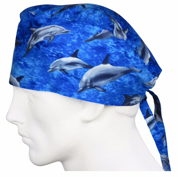 Surgical Cap Dolphins