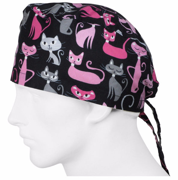 Surgical Hats Feline Cats