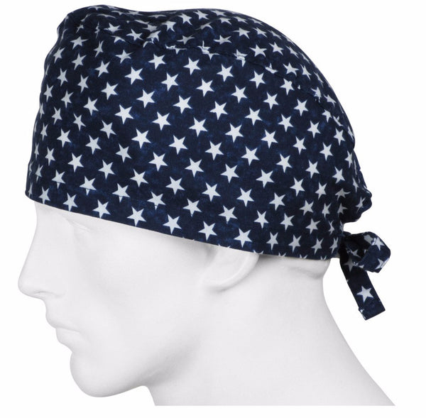 Surgical Caps USA Stars