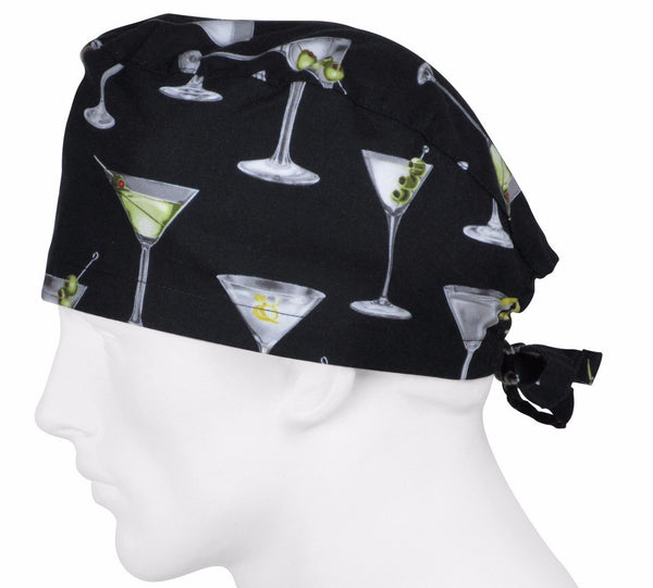 Surgical Hats Martini Time