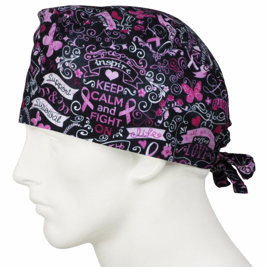 Surgical Hats Pink Dreams