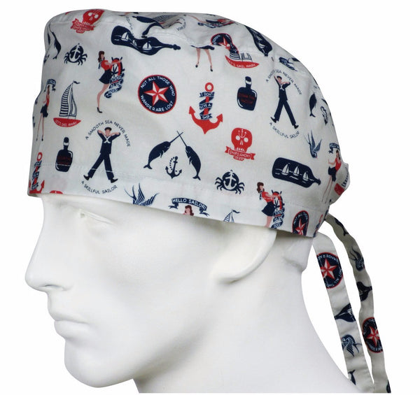 Scrub Hat Sailors Day