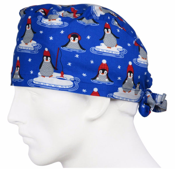 Scrub Hats Polar Penguins