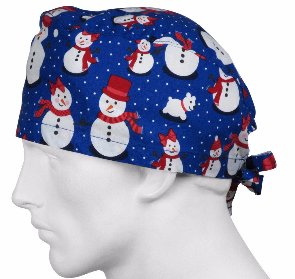 Surgical Cap Arctic Snow People
