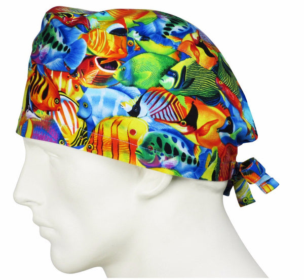 Surgical Hats Coral Reef