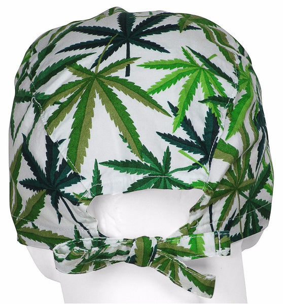 Surgical Hat Medical Cannabis (back)