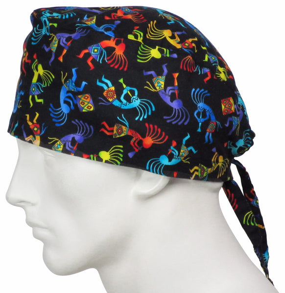 Surgical Caps Kokopelli