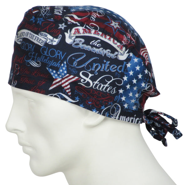 Surgical Hats Patriotic Days