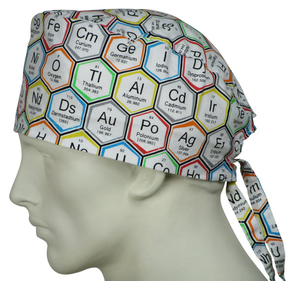 Scrub Hats Periodic Elements