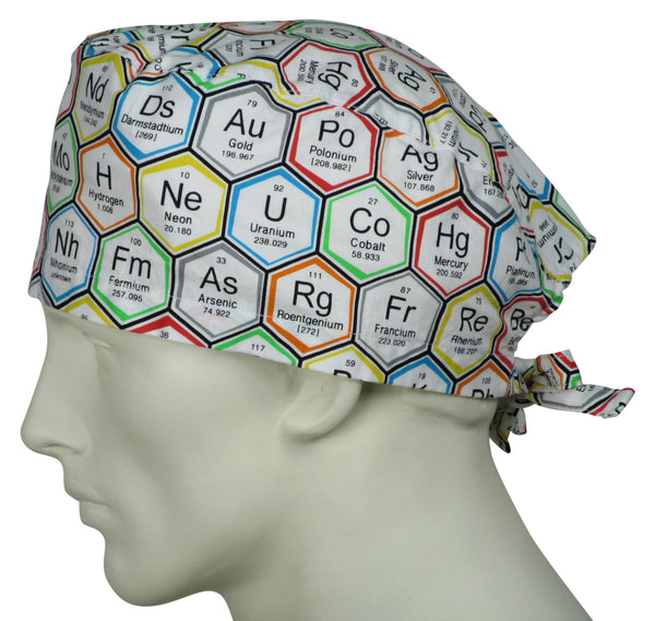 Scrub Caps Periodic Elements