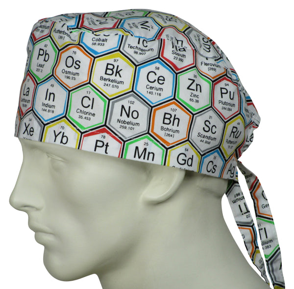 Surgical Caps Periodic Elements