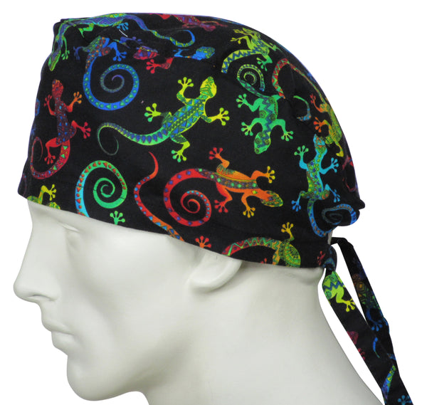 Scrub Hats Magic Gecko