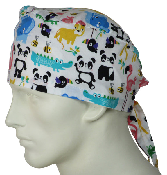 Scrub Caps Animal Friends