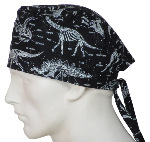 Scrub Caps Prehistoric Animals