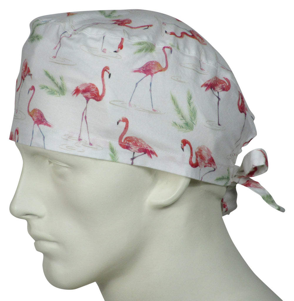 Scrubs Cap Flamingos
