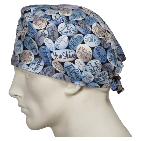 Surgical Hats Word Stones