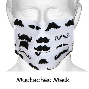 Surgical Masks Mustaches