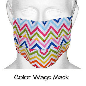Designer Scrub Masks Color Wags
