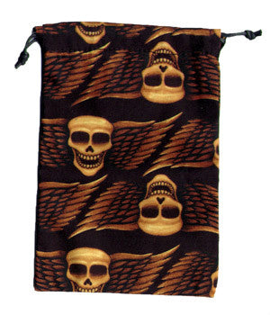 Winged Skulls Scrub Sacks