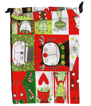 Kitty Kristmas Surgical Sacks