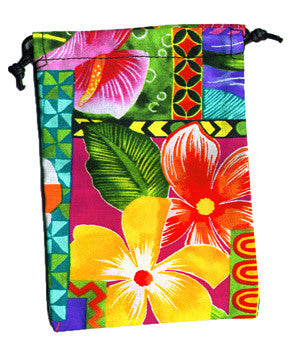 Rainbow Flowers Surgical Scrub Sacks