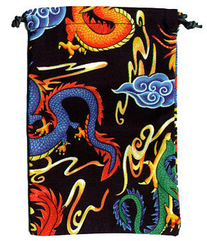 Colorful Dragons Scrub Surgical Sacks