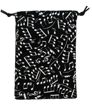Making Music Scrub Sack Black