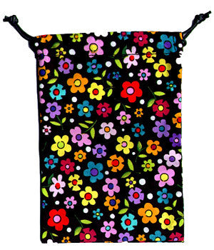 Sweet Flowers Scrub Sacks