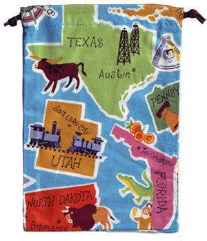 USA States Scrub Sacks