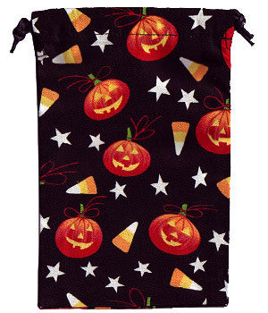 Halloween Treat Scrub Sacks