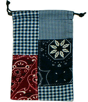 Bandana Patchwork Surgical Scrub Sacks