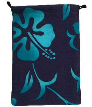 Lava Flower Purple Surgical Scrub Sacks