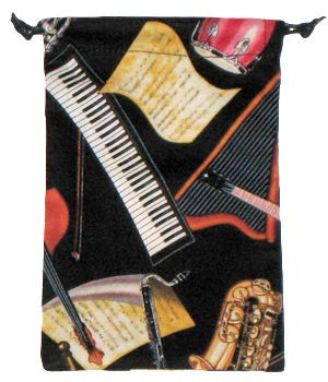 Musical Instruments Scrub Sacks