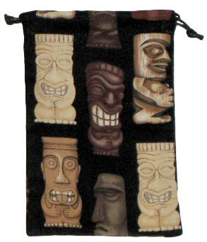 Tiki Faces Surgical Scrub Sacks