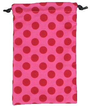 Ta Dot Pink Surgical Scrub Sacks