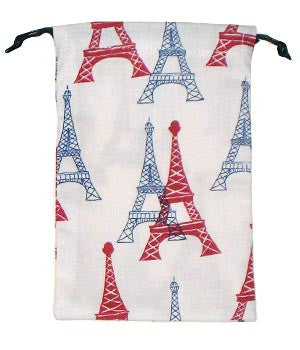 Eiffel Tower Scrub Sacks